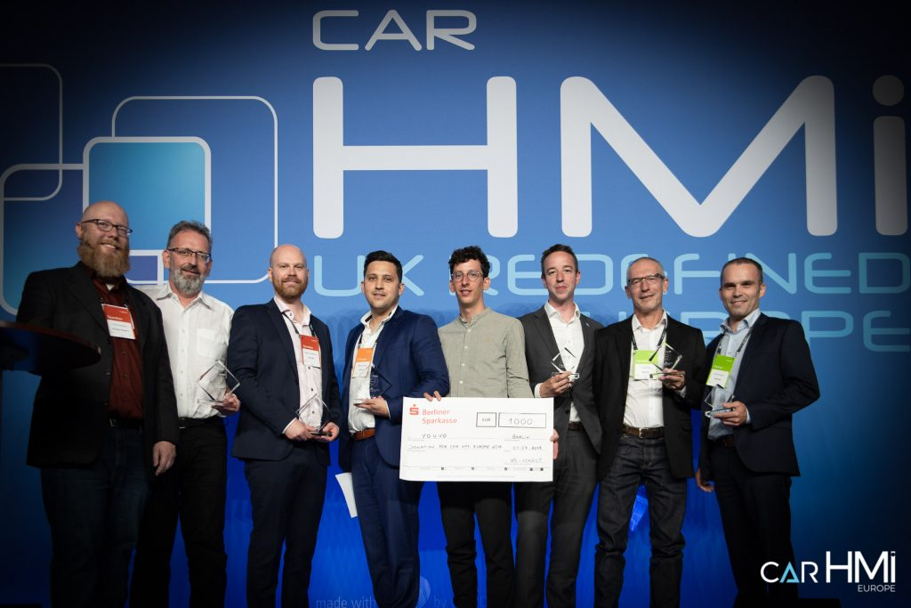 Car HMI Europe 2019