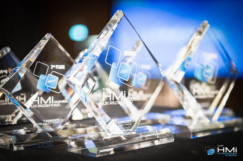 Car HMi Europe Award trophies
